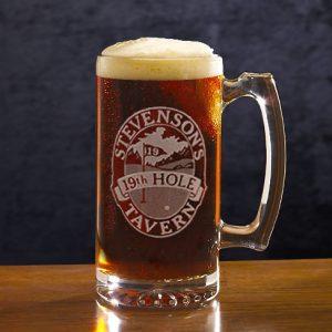 19th Hole Tavern Large Mug