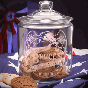 All American Cookies Jar