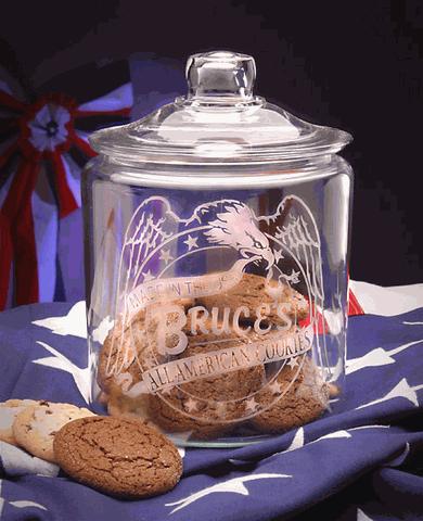 All American Cookies Jar