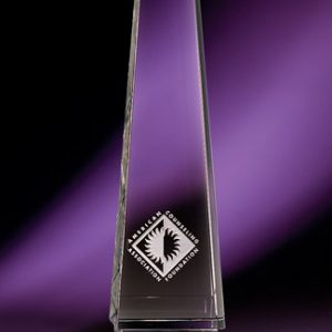 Athena Series Etched Crystal Awards