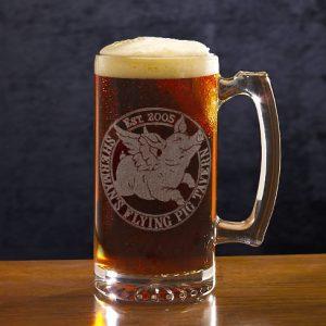Flying Pig Pub Large Mug