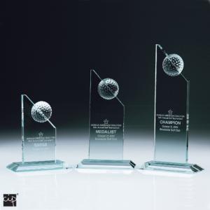 Jade Golf Tower Crystal Awards