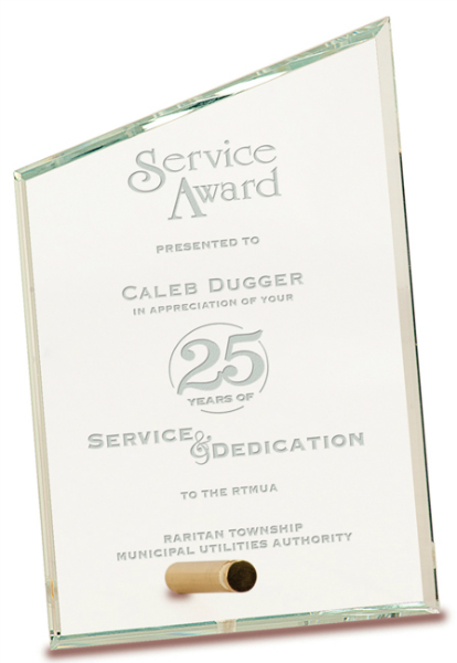 Personalized Executive Glass Awards