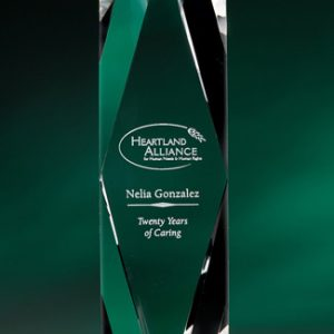 Prizma Series Etched Crystal Awards