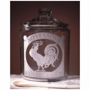 Rooster Theme Cookie Jar
