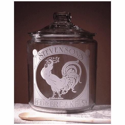 Rooster Theme Cookie Jar