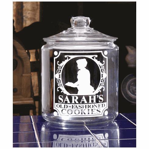 Victorian Woman Cookie Jar