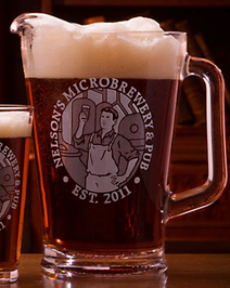 Personalized Microbrewery Pitcher